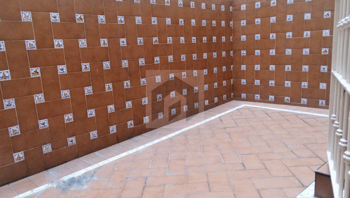 Ref 415, luminoso apartamento en el centro con patio