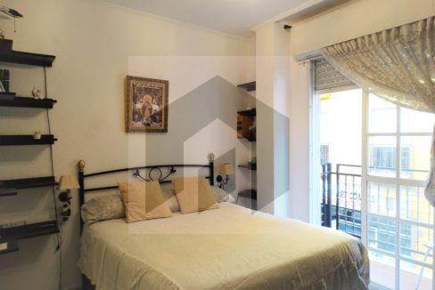Ref 415, Centrico apartamento con patio: dormitorio