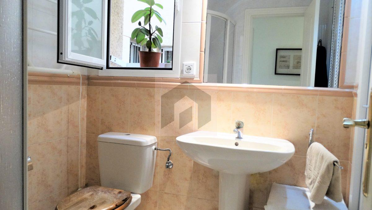 Ref 468, luminosa vivienda en el centro: baño